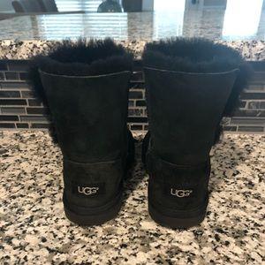 UGG Shoes - Girl's black Ugg Boots